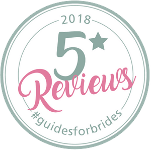 5 Star Reviews - Guides for Brides